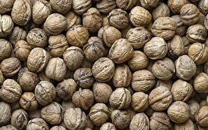 Обои Орехи Много Вблизи Текстура Продукты питания
