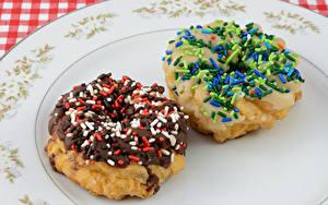 Картинка Выпечка Пончики Сладости 2