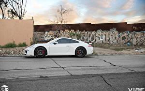 Фото Порше Белых Спереди 911 Zito ZS05 Автомобили