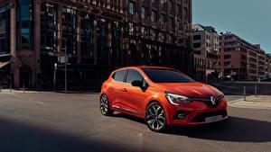 Фотография Renault Оранжевая Металлик 2019 Clio Worldwide Автомобили