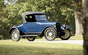 Фотография Старинные Синие Родстер 1917 Chalmers Model 6-30 Roadster машина