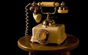 Фотографии Винтаж На черном фоне Телефона