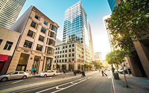 Фотографии Дороги Здания Штаты Улица Сан-Франциско Города