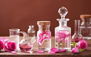 Картинка Розы Физиотерапия Лепестков Розовый Банке