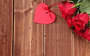 Фотография Роза День всех влюблённых Сердце Шаблон поздравительной открытки Доски Цветы