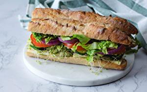 Фото Сэндвич Хлеб