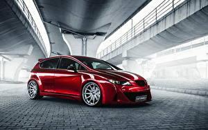 Фотография Сиат Красная Leon авто