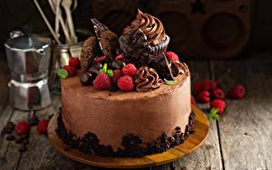 Фотографии Сладкая еда Торты Шоколад Ягоды Доски Дизайна Пища