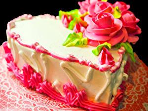 Фотография Сладкая еда Торты Роза Дизайн