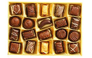 Картинка Сладкая еда Конфеты Шоколад