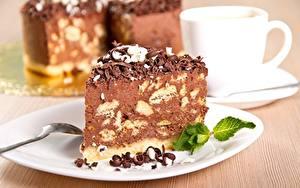 Обои Пирожное Сладости Шоколад Торты