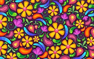 Обои Текстура цветок
