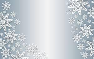 Фотографии Текстура Рождество Снежинка