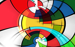 Картинка Текстура Векторная графика Разноцветные