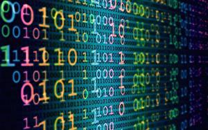 Обои Текстура binary code, sequence
