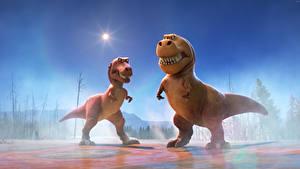Обои Хороший динозавр Динозавр Две Мультики