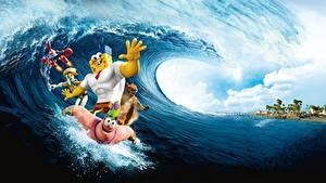 Обои Губка Боб - квадратные штаны The SpongeBob Movie Sponge Out of Water 2015
