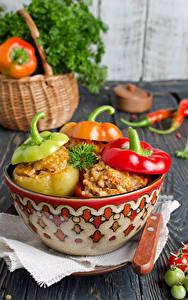 Фотография Вторые блюда Перец Пища