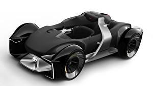 Обои для рабочего стола Тойота Формула 1 Белом фоне Черная 2019 e-Racer авто