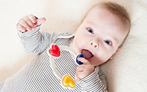 Картинки Игрушки Младенцы Взгляд