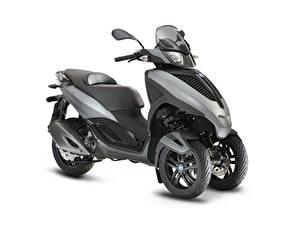 Картинки Трицикл Белом фоне 2011-20 Piaggio MP3 Yourban LT 300 Sport Мотоциклы