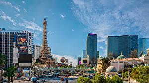 Фото Америка Дома Лас-Вегас Улиц Башня город
