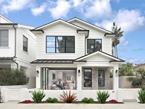 Фотографии США Дома Калифорнии Особняк Дизайна Newport Beach
