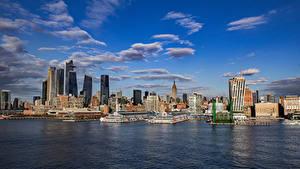 Фотографии США Дома Небоскребы Нью-Йорк