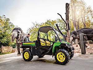 Обои Side by Side 2017-19 John Deere Gator XUV855M