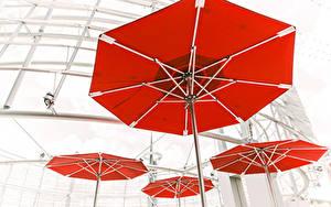 Картинки Зонт Красный