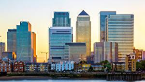 Фотографии Великобритания Англия Здания Лондоне Улица