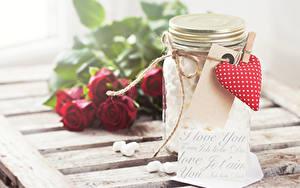 Фотографии День всех влюблённых Английский Банка Серце