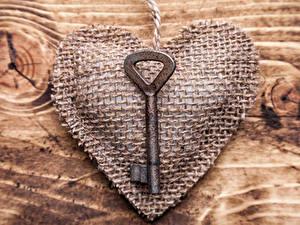 Фотография День всех влюблённых Сердца Замковый ключ