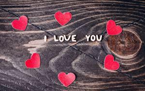 Фото День всех влюблённых Сердце Текст Английский I Love You