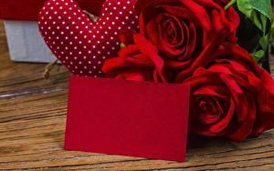Картинки День святого Валентина Розы Шаблон поздравительной открытки