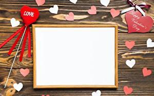 Картинка День святого Валентина Шаблон поздравительной открытки Сердце