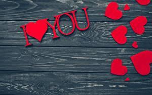 Картинка День всех влюблённых Доски Шаблон поздравительной открытки Сердца