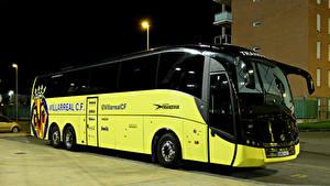 Картинки Вольво Автобус Sunsundegui SC7 Автомобили