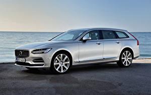 Картинка Volvo Универсал Серебряный V90