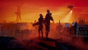 Фотография Воин Wolfenstein Двое Youngblood компьютерная игра