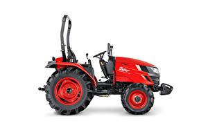 Фотография Тракторы Красный Сбоку Белым фоном Zetor Compax CL 35, 2020