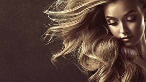 Картинки Волосы Русых Фотомодель Лица by Sofia Zhuravets девушка
