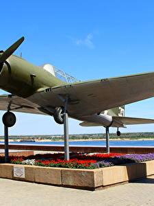 Фотографии Самолеты Россия Волгоград Музей Panorama Museum The Battle of Stalingrad, SU-2 (BB-1) Авиация