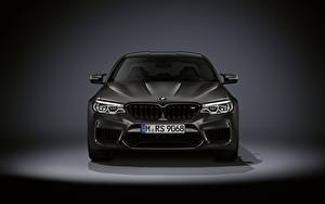 Обои для рабочего стола BMW Спереди M5 F90 2019 Edition 35 Years Автомобили