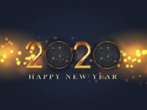 Фото Новый год Слово - Надпись Английский 2020