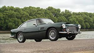 Фотографии Астон мартин Винтаж Металлик Черный 1960-61 DB4 Worldwide (Series II) Touring машина