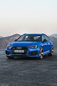 Фото Audi Металлик Синий 2017 RS 4 Avant машина
