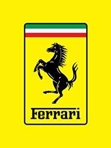 Фотографии Логотип эмблема Феррари Лошадь