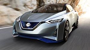 Обои Nissan Едущий Серебряный Боке Металлик Leaf Rumors, 2020 Автомобили