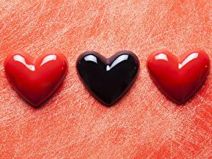 Картинка День святого Валентина Три Сердце